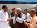VP M. Venkaiah Naidu in Lucknow