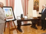 President Kovind, President of Hellenic Republic Pavlopoulos participate in gift ceremony