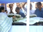 Political leaders pay last tribute to Somnath Chatterjee at WB Vidhan Sabha