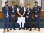 PM Modi meets Asian Games winners