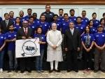 PM Modi meets participants of Misson Gange in New Delhi