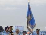 Air Chief Marshal B.S. Dhanoa calla on President Ram Nath Kovind