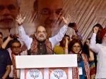 Amit Shah attacks Mamata in Kolkata Rally