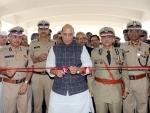 Rajnath Singh attends 57th Raising Day Parade of Indo-Tibetan Border Police