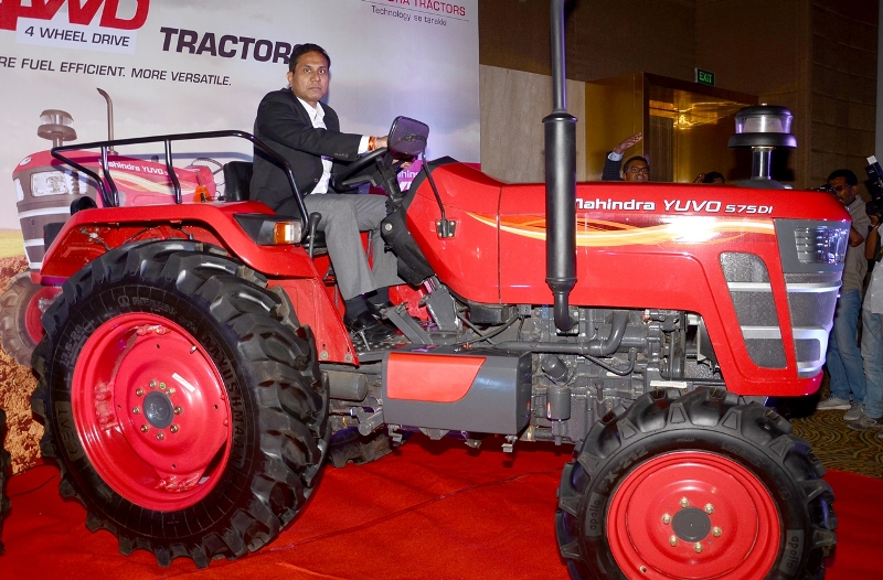 Mahindra & Mahindra launches new range of tractors