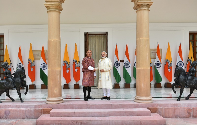Bhutan PM visits India