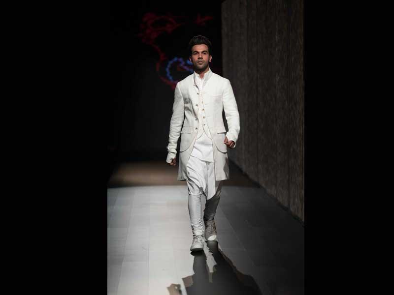 Rajkummar Rao glams up Lakme Fashion Week on Day 2