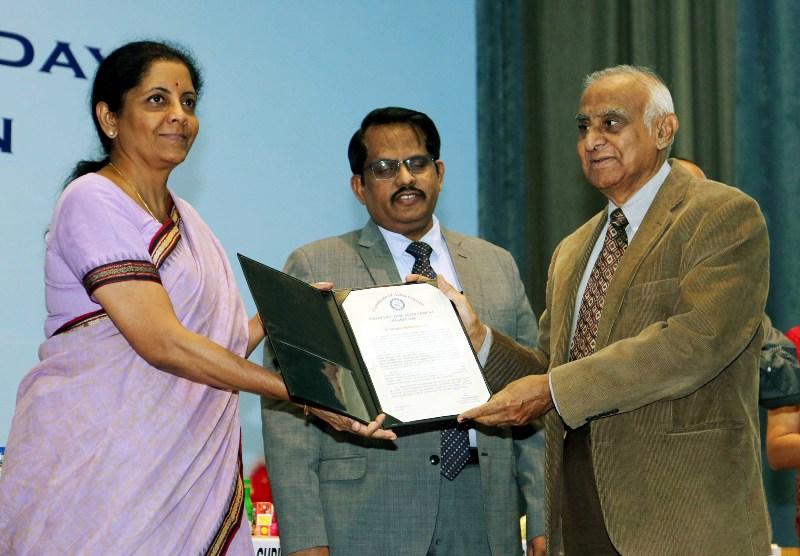 DRDO Awards:  Union Minister for Defence Nirmala Sitharaman addresses gathering