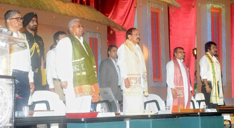 VP addressing the Convocation of Tripura University, in Agartala, Tripura