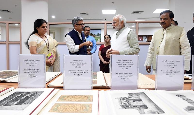 PM Modi inaugurates new ASI building