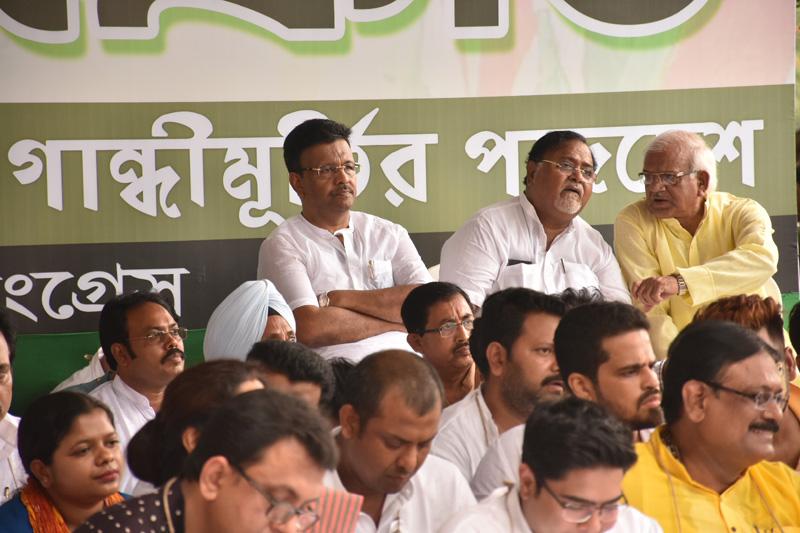Kolkata: TMC protest against fuel price hike