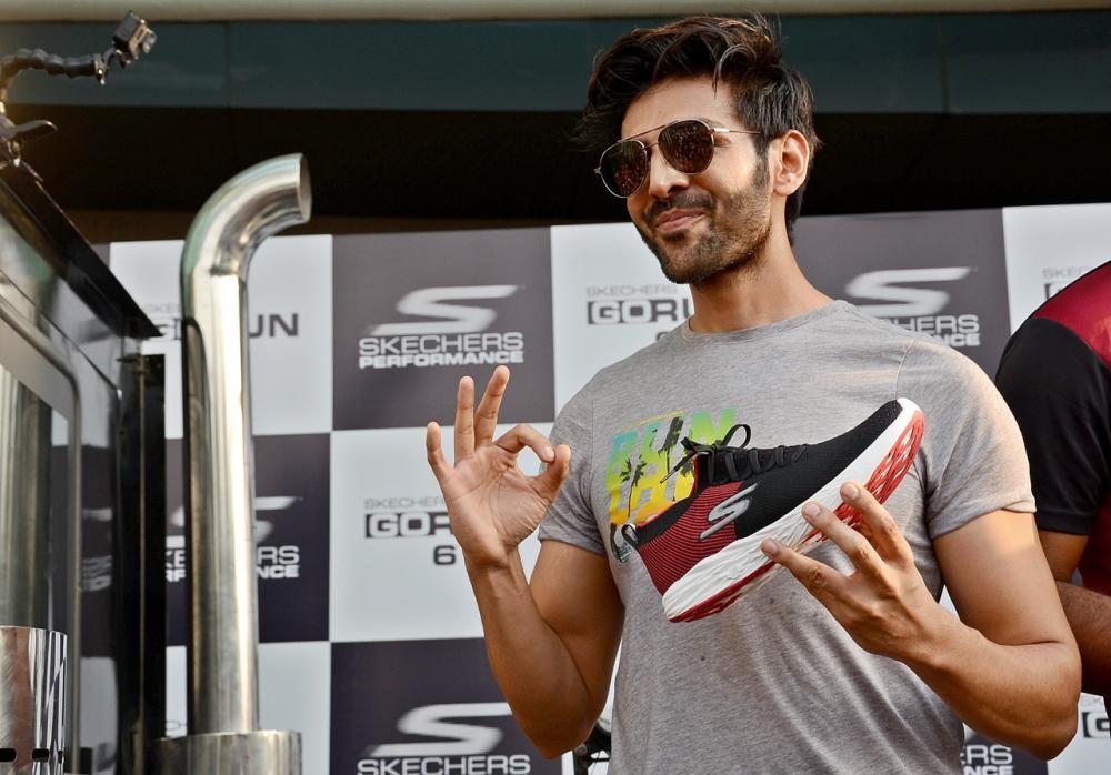 Kartik Aaryan launches Skechers' next generation transition running shoes Go Run 6