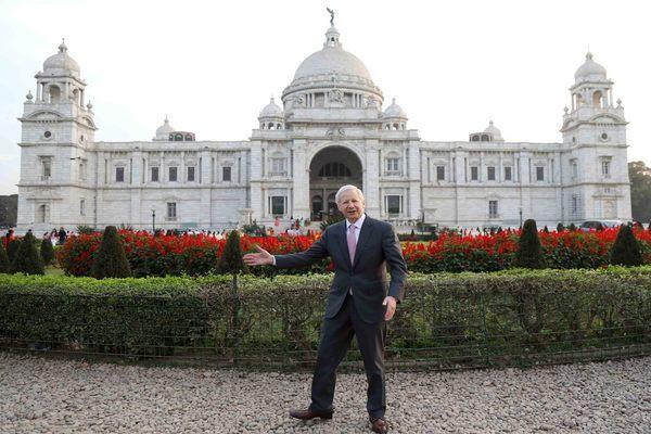 US Ambassador to India Kenneth I. Juster visits Victoria Memorial
