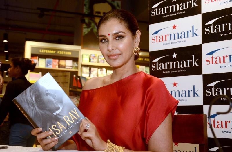 Lisa Ray in Kolkata for her book Close to the Bone