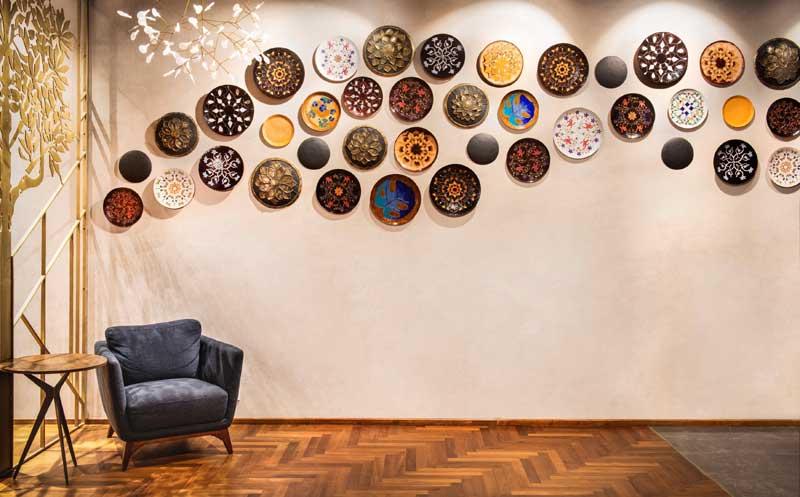 Fabulous art works by Baaya Design at Bombay House