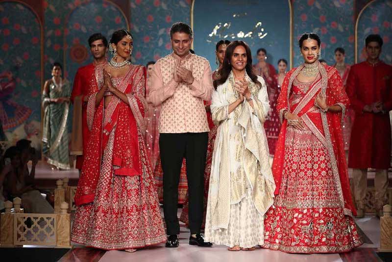 Anita Dongre's Shaadi by Marriott show sweeps Kolkatans at Westin Rajarhat