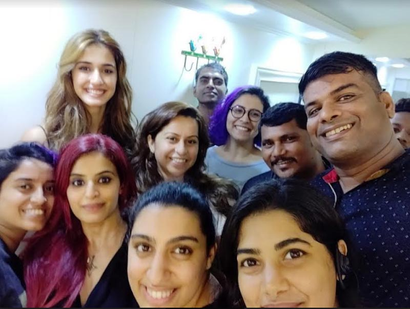 Disha Patani shares pictures from sets of Malang