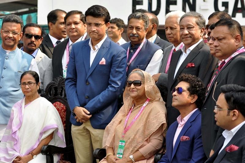 Kolkata celebrates Pink Ball Test match