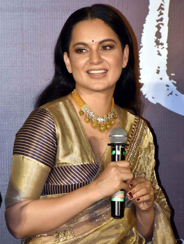 Kangana at Panga trailer launch in Mumbai