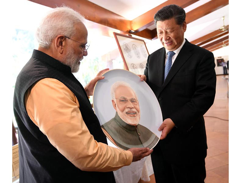 PM Modi holds second informal meeting with Chinese President Xi Jinping