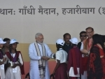 PM Modi provides milk packets to schoolchildren