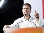 Rahul Gandhi addresses public meeting in Thiruvananthapuram