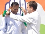 Rahul Gandhi welcomes BJP MP in partyfold