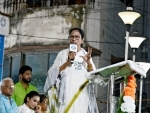 Mamata Banerjee holds public meeting in south Kolkata