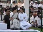 Rahul, Priyanka pay homage to Rajiv Gandhi