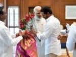 Jagan Mohan Reddy meets PM Modi in New Delhi