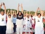 Modi leads International Yoga Day as ministers join him in performing yoga