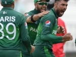 Pakistan win the match against South Africa during ICC Cricket World Cup 2019 at Lords