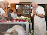 PM Modi pays tribute to Sheila Dikshit in New Delhi