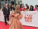 Actress Cynthia Erivo on red carpet in TIFF 2019