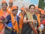Hema Malini inaugurates Nutrition Rally in Mathura