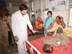 Tejashwi Yadav visits hospital in Muzaffarpur to see children suffering from Encephalitis