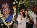 Kolkata: People bid final farewell to Nabaneeta Dev Sen