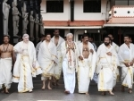 PM Modi visits Kerala, offers prayers at Guruvayur Temple