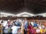 PM Narendra Modi addresses rally at brigade in Kolkata