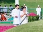 Sonia, Rahul pay tribute to Pt. Jawaharlal Nehru on his death anniversary