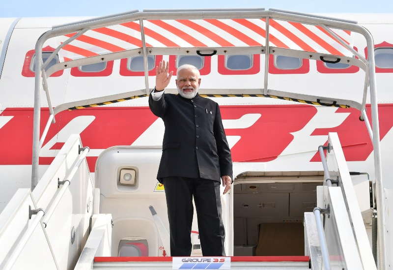 PM Modi at G7 with world leaders