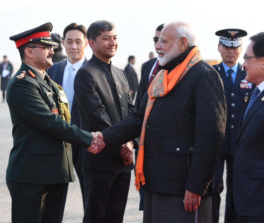 Prime Minister Narendra Modi in South Korea