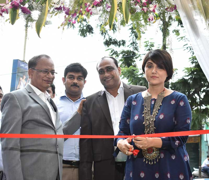 Actress Swastika Mukherjee inaugurates Godrej Interio's new store in Kolkata