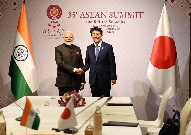 Modi meets global leaders in Bangkok