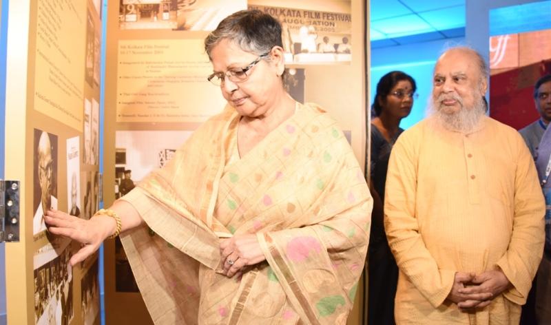 Glimpses of Kolkata International Film Festival from Nandan