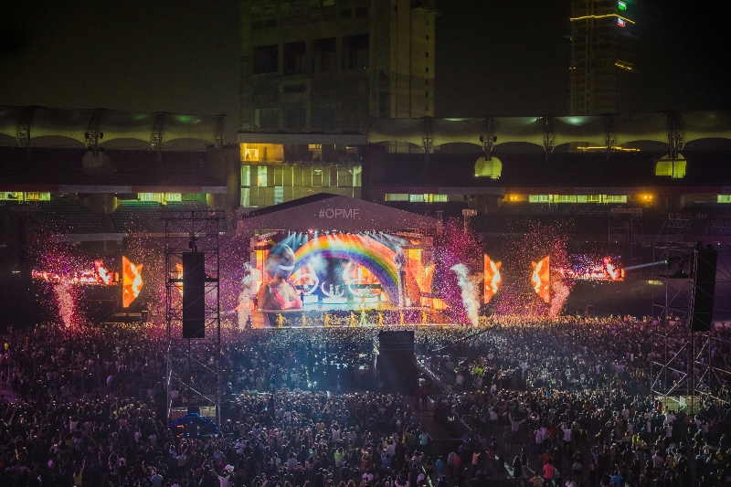 Katy Perry in Mumbai at the OnePlus Music Festival