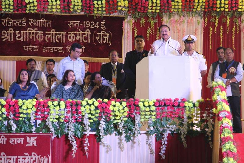 Sonia Gandhi, Prez Kovind attend Dussehra celebrations
