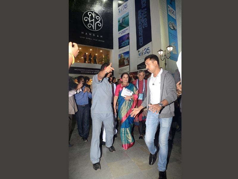 Shabana Azmi, Aparna Sen attend special screening of Sumantro Ghoshal's Kaifinama