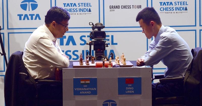 Viswanathan Anand in Kolkata