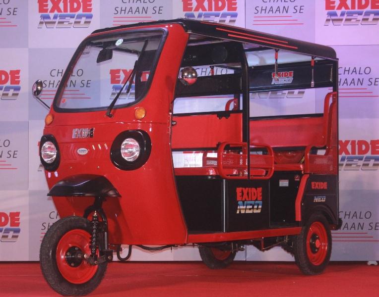 Exide announces its entry into e-rickshaw market